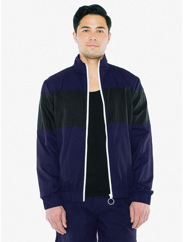 Crinkle Nylon Team Jacket