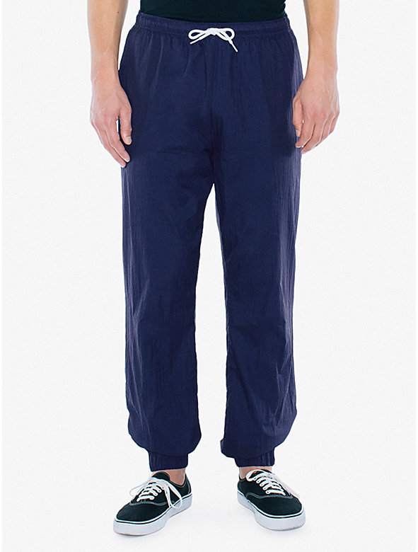 Crinkle Nylon Team Pant