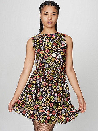 California Select Original Cut-Out School Girl Dress