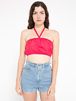California Select Originals Silk Tube Top
