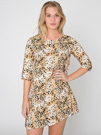 California Select Originals Leopard Print Tent Dress