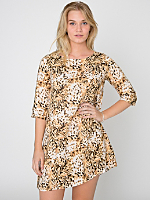 California Select Original Leopard Print Tent Dress