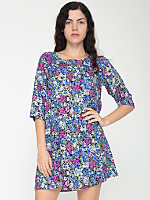 California Select Original Garden Floral Tent Dress