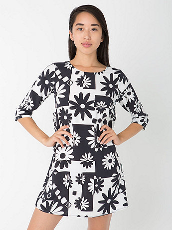 California Select Originals Graphic Daisy Dress