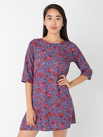 California Select Originals Floral Tapestry Tent Dress