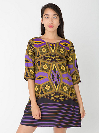 California Select Originals Tribal Motif Tent Dress