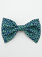 California Select Originals Animal Print Bow Hair Clip
