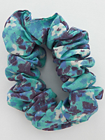 California Select Originals Abstract Floral Scrunchie