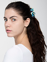 California Select Originals Watercolor Scrunchie