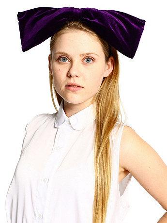 California Select Originals Velvet Oversized Bow Headband