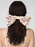 California Select Original Arrowhead Oversized Bow Hair Clip