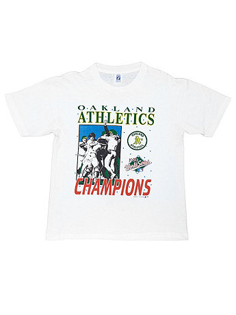 Vintage Oakland Athletics World Series Champions T-shirt