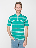 Vintage Striped Polo Shirt