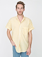 Vintage Levi's Striped Short-Sleeve Button-Up