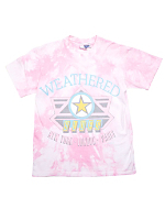 Vintage Weathered Blues Tie-Dye T-shirt