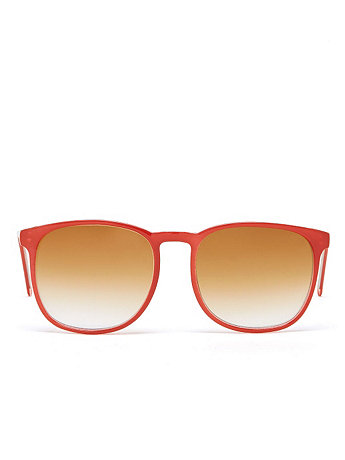 Vintage Jacques Fath Red Tortoise Shell Sunglasses