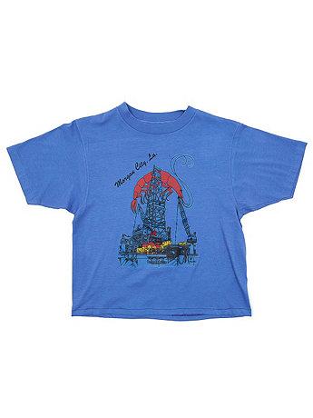Vintage Morgan City, Louisiana Cropped T-shirt