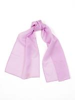 Vintage Lilac Long Sheer Rayon Scarf