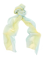 Vintage Sheer Ombre Long Scarf