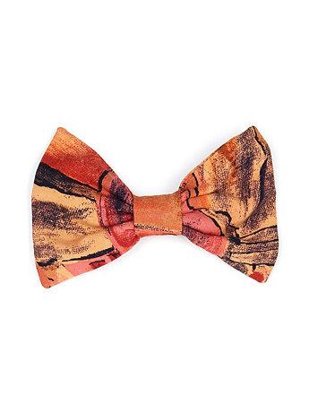 California Select Originals Abstract Print Bow Hair Clip