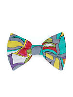 California Select Originals Colorful Abstract Bow Hair Clip