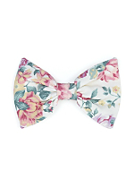 California Select Originals Dusty Floral Bow Hair Clip
