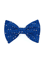 California Select Originals Diamond Print Bow Hair Clip