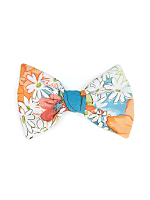 California Select Originals Daisy Print Bow Hair Clip