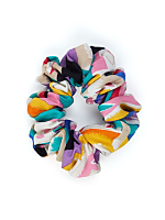 California Select Originals Abstract Print Scrunchie