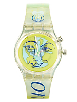 Vintage Swatch Heart on Earth Watch
