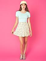 Vintage Ditsy Floral Mini Skirt