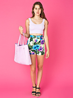 California Select Originals Geranium Print Shorts