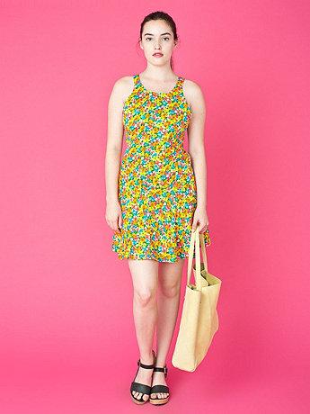 Vintage Floral Sun Dress