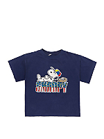 Vintage All-American Snoopy Cropped T-shirt