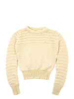 Vintage Kids' Striped Knit Sweater