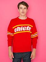 Vintage Kansas City Chiefs Knit Sweater