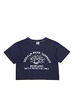 Vintage Dekalb Park Bowling Cropped T-shirt