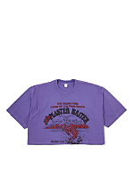 Vintage The Master Baiter/Bob's Bait Shop Cropped T-Shirt