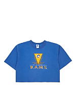 Vintage Los Angeles Rams Cropped T-shirt