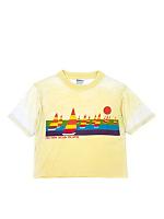 Vintage Hilton Head Island Cropped T-shirt