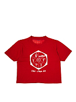 Vintage Ohio State University Phys Ed Cropped T-shirt