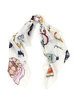 Vintage Hollywood Intuition Silk Scarf