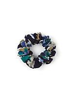 California Select Originals Floral Doodle Scrunchie
