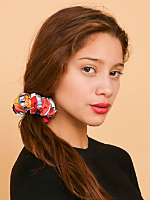 California Select Originals Paint Print Scrunchie