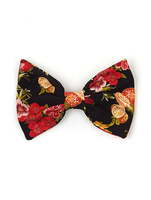 California Select Originals Fruit & Flower Bow Hair Clip