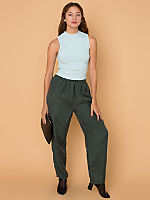 Vintage Silk Jumper Pant