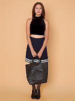 Vintage Striped & Pleated Tennis Skirt