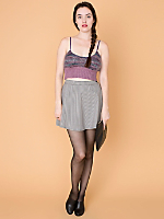California Select Originals Marled Stripes Mohair Tank