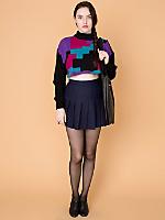 California Select Originals Cropped Wool Sweater