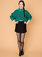 California Select Originals Cropped Knit Sweater